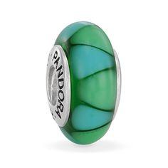 Pandora 925 silver and Murano Glass charm