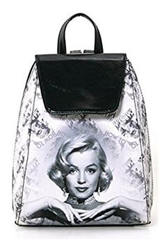 a052d8297219 Beautiful Marilyn Monroe Backpacks and Totes - A Touch of Glamour. Black  BackpackHiking ...
