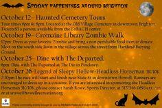 Spooky Happenings around Brighton, Michigan!