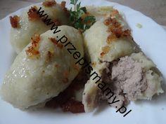 www.przepismamy.pl: Kartacze z mięsem gotowanym Grains, Rice, Recipes, Food, Youtube, Biscuits, Essen, Meals, Eten