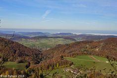 In der Natur unterwegs: Herbstwandern über dem Nebel - #Jura #wandern #Schweiz #Aargau #Solothurn
