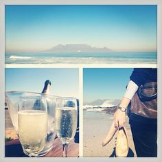 Morning with a view! It's 5 o'clock somewhere. Beach Walk, Oclock, Jimmy Choo, Travelling, Alcoholic Drinks, Law, Bubbles, Wine, Instagram