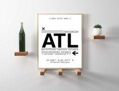 ATL Atlanta Georgia International Airport Call Letters. A