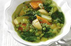 Spring veg soup recipe - goodtoknow