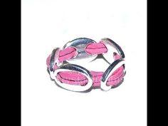 Beading Ideas - Leather ring