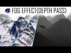 Fog Effect (Depth Pass) ~ Cinema4D Tutorail - YouTube