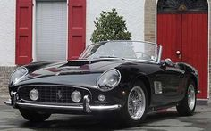 Ferrari 250 GT California Spyder -  The rare black convertible fetched nearly 11 million at auction, making it the most valuable vintage car ever sold at auction.