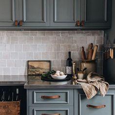 Tidy Kitchen, Kitchen Decor, Kitchen Design, Kitchen Ideas, Kitchen Tile, Kitchen Colors, Kitchen Cabinets, Design Blog, The Design Files
