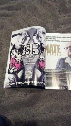 This month in Inked Magazine, Inked Girls Magazine, Tattoo Culture Magazine, and Tattoo Society Magazine Shonda Laurelee Mackey