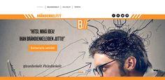 Brändienkelit-verkkosivusto. Visuaalinen toteutus oman ammattitaidon ylläpitämiseksi. Natasha Varis, 2015. – http://www.brandienkelit.fi/