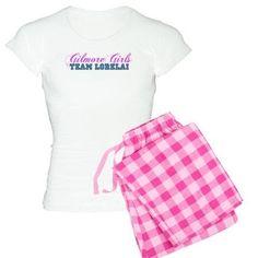 Lorelai Gilmore Girls pajamas on CafePress.com
