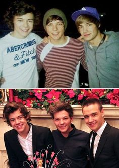 """The """"before and after"""" pictures where they're standing in the same order kill me."""