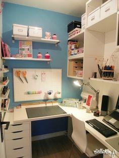 Home: Bienvenue dans mon bureau coloré « Hello Kim !