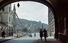 Régi színes budapesti fényképek a második világháború idejéből | WeLoveBudapest.com