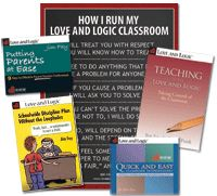 Love and Logic: Educator Package $74.95 - A 13% discount over retail.  (Teaching with Love and Logic in CD or book form with this package.)