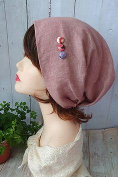 Chapeau et Capuche-Leah Linen Gatsby Hat, Couture, Beanie, Hats, Grey, Fashion, Turbans, Lavender, Hair