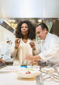 Oprah Talks to Jean-Georges Vongerichten