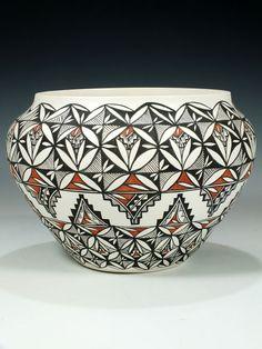 Acoma Pueblo Pottery by Natasha Rascon.