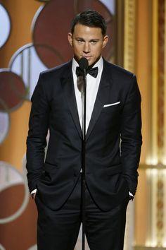 Channing Tatum - 72nd Annual Golden Globe Awards Show