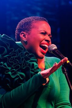 """Special guest Chrisette Michele joins the Experiment to perform """"Afro Blue"""" from Black Radio. Chrisette Michele, Natural Girls, Dark Autumn, Neo Soul, Big Chop, Short Styles, Hair Colours, Naturally Beautiful"""