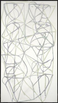 Brice Marden – Couplet III, 1988–9