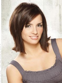 Hmmmm....already getting bored with the inverted bob style I've been wearing for almost a year. Thinking of this...Medium layered shag haircut for spring 2012