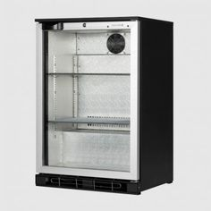 Tefcold 124 Ltr Single Glass Door Back Bar Cooler: BA10H AL