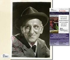 JIMMY DURANTE Hand Signed Vintage 5x7 Inch Photo - JSA COA - UACC RD #289 in Collectibles, Autographs, Television   eBay