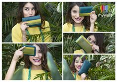 Discover our new wallet styles in this season's colour, Evergreen!