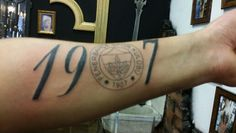 Tattoo Fenerbahce in Istanbul gezet