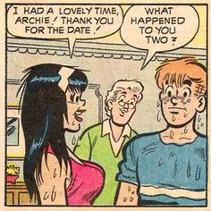 Anyone would agree, Archie comics are a fairly wholesome, squeaky clean read. Late Night Movies, History Of Drawing, Archie Comics Riverdale, Dan Decarlo, Comic Art, Comic Books, Comic Frame, Jordi Bernet, 1980s Pop Culture