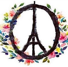 13novembre2015 - #JeSuisParis #PeaceForParis #PeaceForWorld #PrayForParis #PrayForWorld ☮ #WeAreAllOne ☮