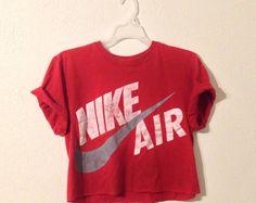 Nike Crop Top Red