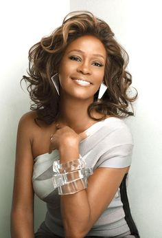Whitney Houston: one of my two favorite music artists since I was a little girl. I love you Whitney, RIP