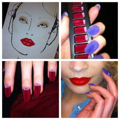 Velvet nails... wow!