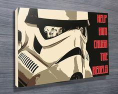 Crush the Rebels Star Wars Propaganda Poster