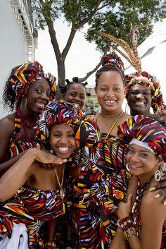 A happy bunch of Brazilian ladies.