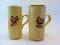 Reveille TS&T Co Rooster Salt N Pepper by Sfuso on Etsy, $20.00