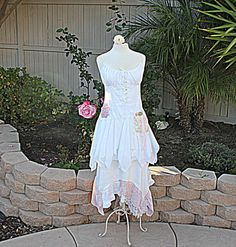 Fairy Dress Women's Upcycled Clothing by AmadiSloanDesigns