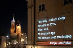 Starting from August on the corner of the Main Square and Bracka St. in Krakow, it will be possible to read poetry from 7 UNESCO Cities of Literature.