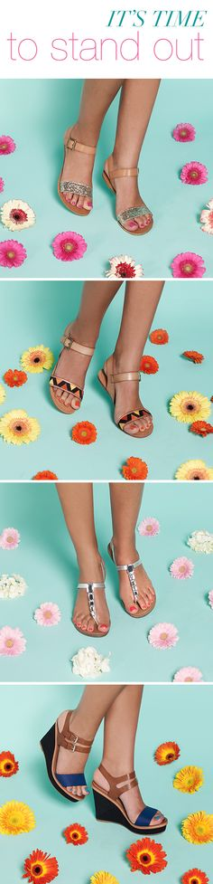 Stand out in chic sandals and a gorgeous pedicure – a match made in style heaven