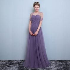 New Formal Long Evening Ball Gown Party Prom Bridesmaid Dress Size S M-XXL 8XL. This link is for dark purple,if you need the light purple,pls check this link Material: Net yarn Cotton Chiffon. Color:DARK PURPLE and LIGHT PURPLE(pls allow color will be a little different because of the light and computer screen). | eBay!