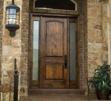 Furniture. Innovative Rustic Door For Exterior Entryway With Solid ...