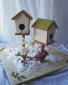 gingerbread birdhouses | Flickr - Photo Sharing!