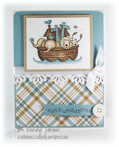 Two by Two stamp set