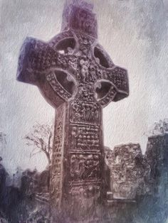 #Monasterboice Snapseed, My Images, Planets, Grunge, Symbols, Instagram, Art, Art Background, Icons