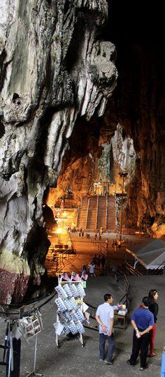 The Batu Caves, Kuala Lumpur. Malaysia, Asia.