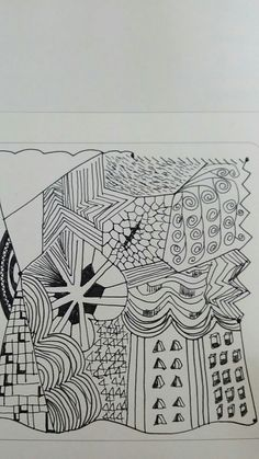 #tangle #art #drawing
