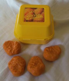 Fisher Price Fun with Food McDonald's Chicken Nuggets 1988 Vintage Play Food   eBay