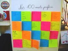 Les idées de Catimini pour les centième jour d'école